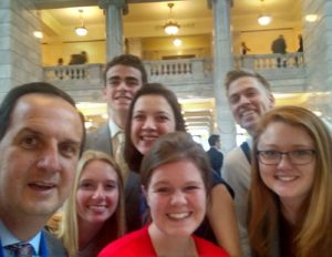 SUU Students Visit the Capitol