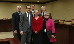 Supporters of HB155 & Highway Safety after presentation